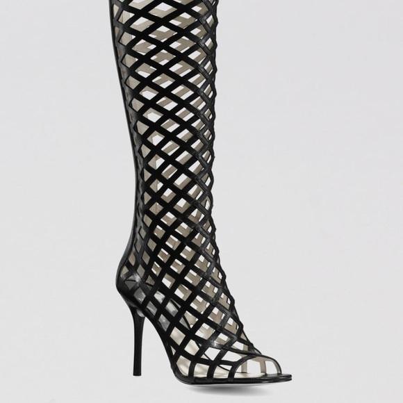 816aaf526e MICHAEL Michael Kors Shoes | Michael Kors Peep Toe High Heel Cage ...